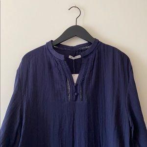 Zara Cotton Gauze Tunic